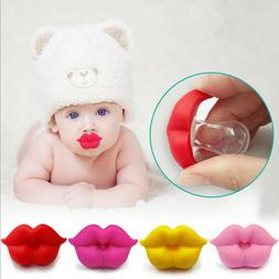 Baby Pacifier Red Kiss Lip Dummy Pacifiers Silicone Baby Nip