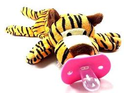 BABY PACIFIER TIGER STRIPE/OPEN ALONG SUCKLING BABY DOLL FOR