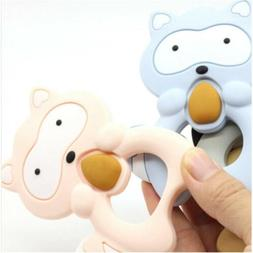 Baby's Pacifier Soft Silicone Teething Chew Pain Relief Toy