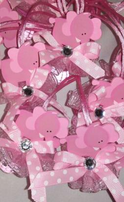 Baby Shower Baby Elephant Pacifiers Favors for girl