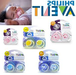 Baby Philips Avent Soother Dummy Nipple 0-6m 6-18m Pacifier