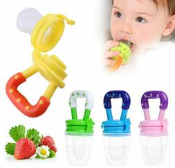 Baby Weaning Feeding Teething Pacifier Dummy Nutrition Fresh