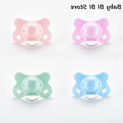Baby with Lid Butterfly Shape Round and Flat Teat Silicone S