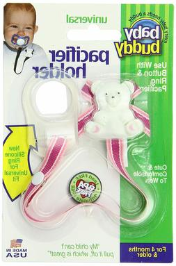 Baby Buddy Bear Pacifier Holder - New Free Shipping In The U