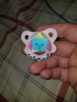 Beigh neutral pacifier for adults dumbo Disney tsum tsum ort