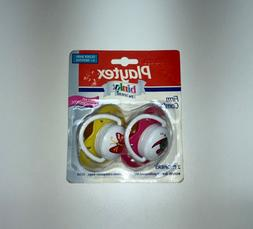 Playtex binky Pacifiers 4+Months Angled Orthodontic Firm Com