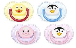 Philips AVENT BPA Free Animal Pacifier, 0-6 Months, Style an