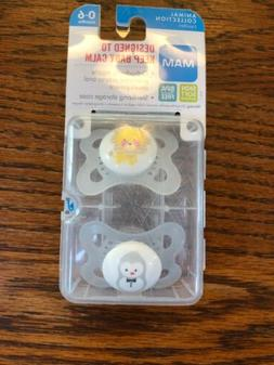 MAM BPA Free Animal Collection 2 PACIFIERS