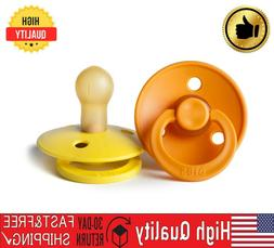 BIBS BPA-Free Natural Rubber Baby Pacifier   Made in Denmark
