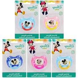 bpa free plastic pacifiers minnie mouse or