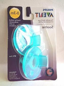 Philips Avent BPA Free Soothie Pacifier 0-3 months, Green, 2