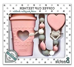 BPA Free Pacifier Clip Holder Set - Baby Teething Toys - Sil