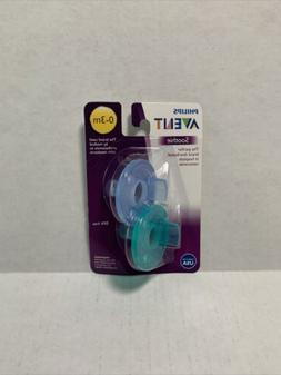Philips Avent BPA Free Soothie Pacifier,Color May Vary 0-3m