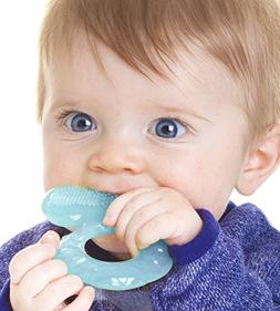 Bristle Teething Ring Cool Soothing Teether Hygienic Case Fo
