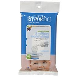 Dr. Browns Pacifier and Bottle Wipes, - 3 Packs Of 30 Count