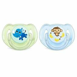 Philips Avent Classic Soother 6-18 Months Boy - Monkey / Rhi