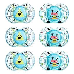 Tommee Tippee Closer to Nature Fun Style Soothie Baby Pacifi