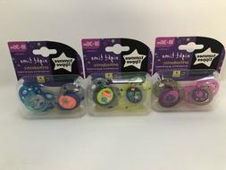 Tommee Tippee Closer to Nature Night Time Toddler Pacifier,