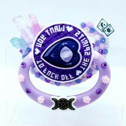 Custom Adult Pacifier Disney Villains, Pagan/Witch, DDLG AGR
