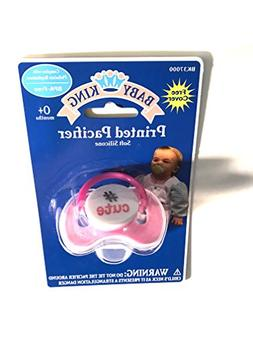 Cute Pink Pacifier with Cover