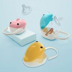 Cute Whale Portable Baby Infant Kids Pacifier Nipple Cradle