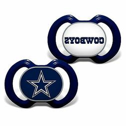 dallas cowboys pacifier set bpa