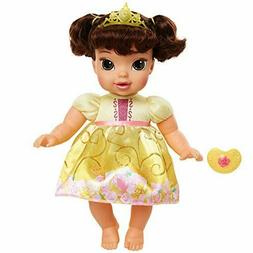 Disney Princess Deluxe Baby Belle Doll with Pacifier Baby Do