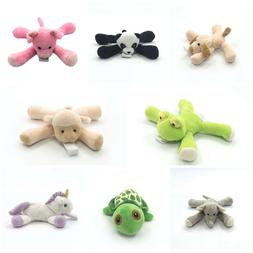 Detachable Animal Plush Pacifier Holder's