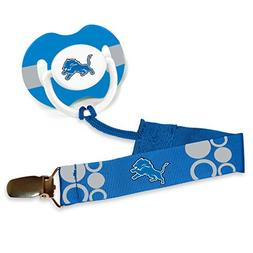 detroit lions blue pacifier