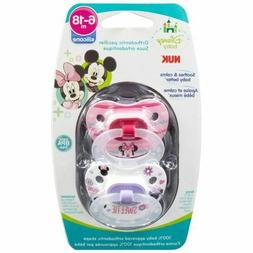 disney baby puller pacifier in mickey minnie