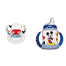NUK Disney 5-Ounce Mickey Mouse Learner Cup with Silicone Sp