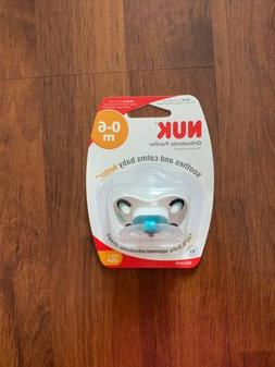 NUK Disney Baby Puller Pacifier, 0-6 Months, Mickey Mouse/As