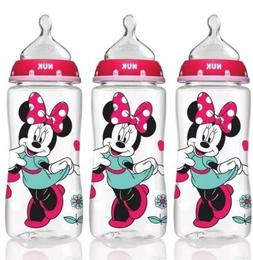 disney orthodontic bottles minnie mouse 3 pack