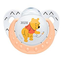 NUK Disney Winnie The Pooh Baby Pacifier 6-18 Months Silicon