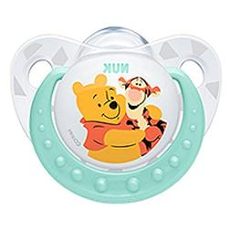 NUK Disney Winnie The Pooh Baby Pacifier 0-6 Months Silicone