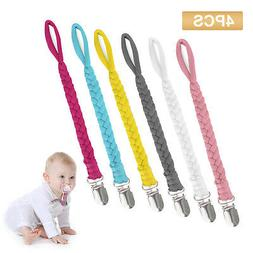 Diverse Nipple Pacifier Clip Dummy Soother Leash Holder Stra