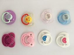 Pinky Reborn Doll Supplies Magnet Pacifier Reborns Baby Doll