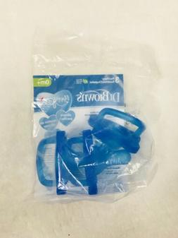 Dr Brown 3 Pacifier Baby 0M+ Blue Silicone Pacifiers