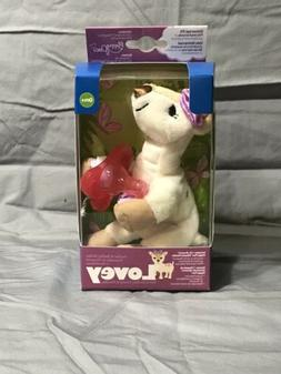 Dr Brown's Lovey Darcy the Deer with Pink Pacifier NIB