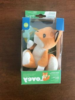 Dr. Brown's Lovey Pacifier & Teether Holder 0m+ - Fox with T
