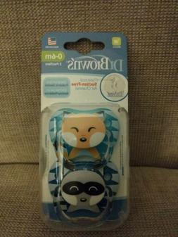 Dr. Brown's Pacifiers 0-6 Months BPA Free PV12015