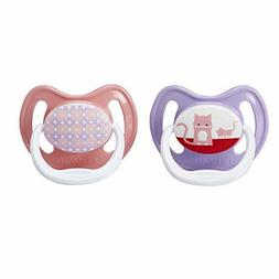 Dr. Brown's PreVent Classic Pacifier, Stage 2 , Unique Pink/