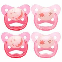 Dr. Brown's PreVent Contour Glow in the Dark Pacifier, Stage