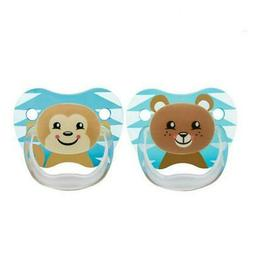 Dr. Brown's PreVent Printed Shield Stage 2 Pacifier, 2 Pack
