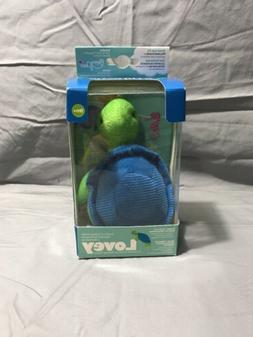 Dr. Brown's Timmy The Turtle Lovey Pacifier and Teether Hold