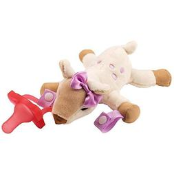Dr. Brown's - Deer Lovey with Pink One-Piece Pacifier - Tan