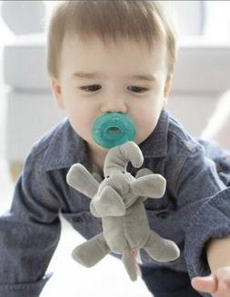 WUBBANUB ELEPHANT PACIFIER GRAY BRAND NEW IN UNOPENED PACKAG