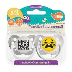 Emoji Pacifiers - Unisex - Crying Emoji & I Really Don't Wan