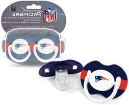 New England Patriots Pacifiers - 2 Pack, Catalog Category: N