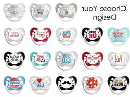 Ulubulu Expression Baby Pacifiers - Choose Your Design - Uni